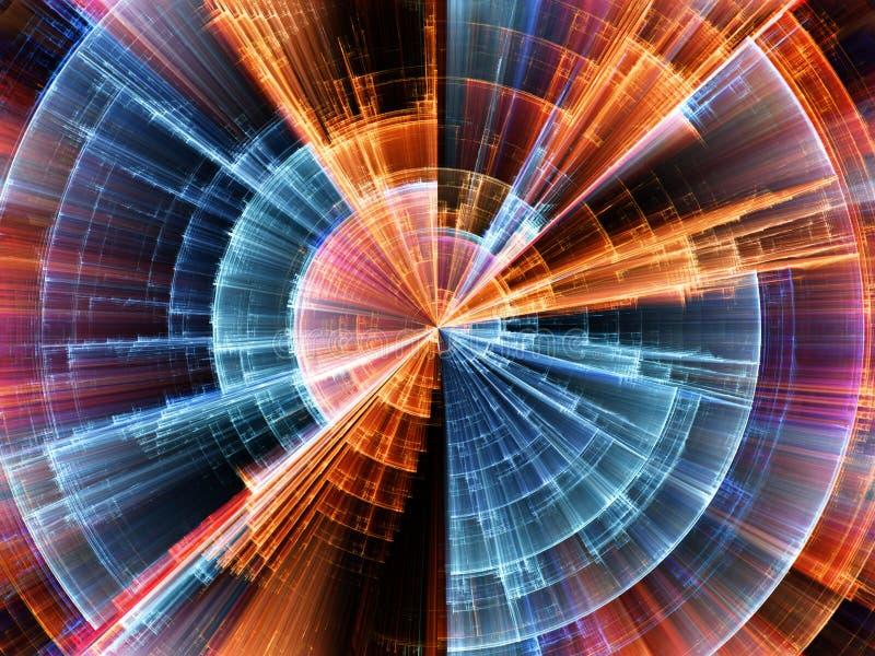 Avance del círculo vibrante fotografía de archivo