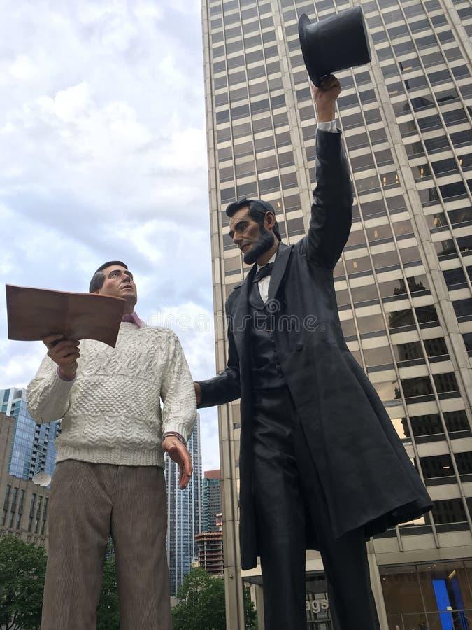 Avances de Lincoln image libre de droits