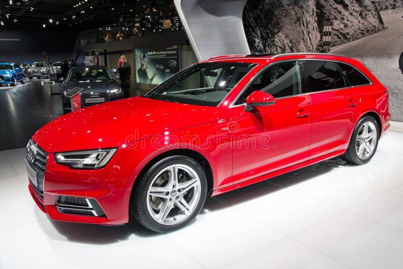 Avant Audi A4 fotografering för bildbyråer
