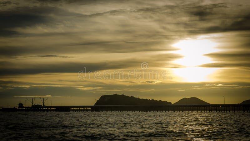 Avant coucher du soleil photographie stock