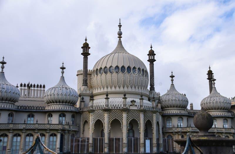 Avant de Brighton Pavilions photographie stock