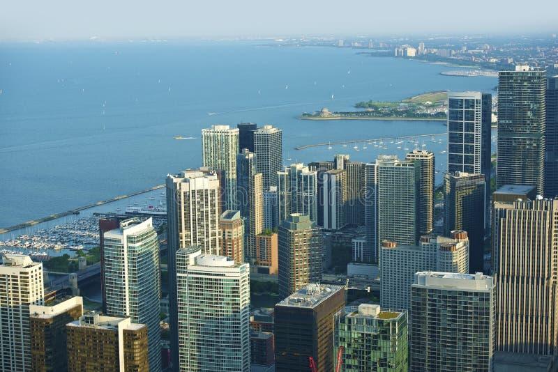 Avant de lac chicago image stock