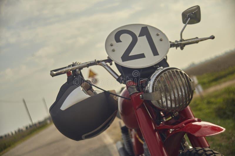 Avant de motocross de cru photos stock