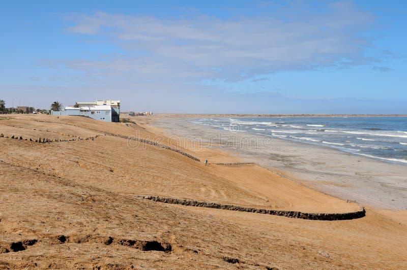 Avant de plage de baie de Henties photo stock