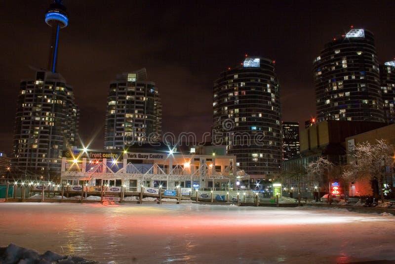 Avant de port de Toronto photos stock