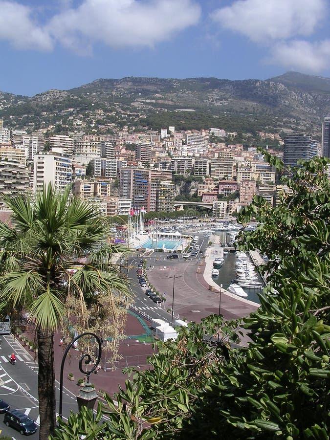 Avant de port du Monaco. photos stock
