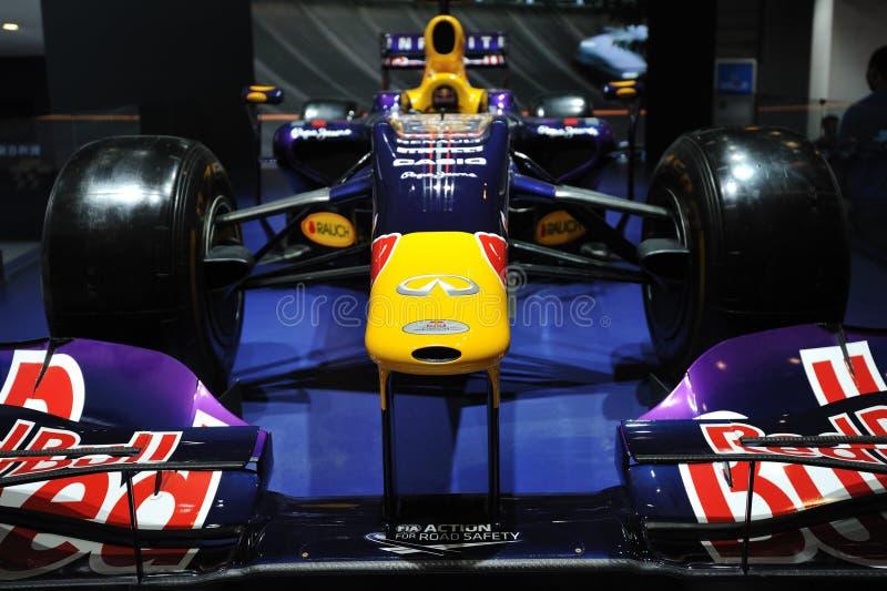 Avant de voiture de course d'Infiniti f1 image stock