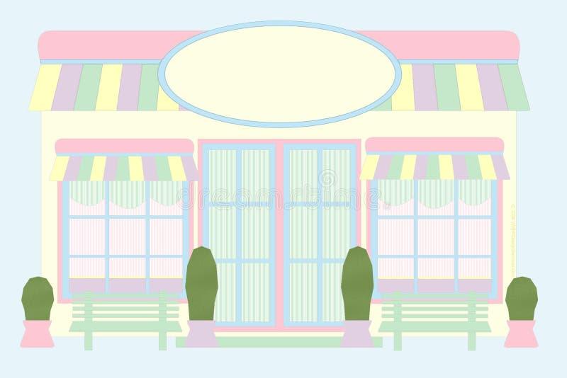 Avant en pastel de mémoire - souris dessinée photo libre de droits