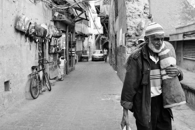 A avant la guerre Damas photographie stock libre de droits