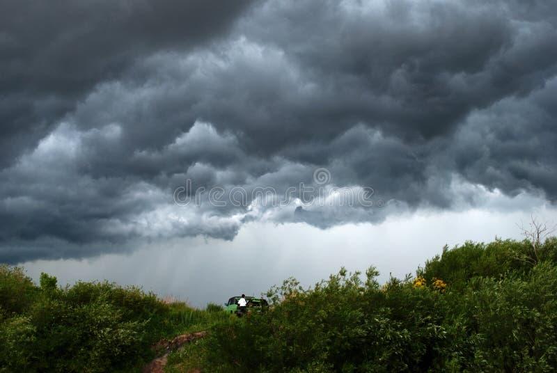 Avant la tempête photo stock