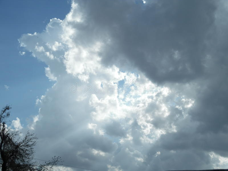 Avant la tempête image stock