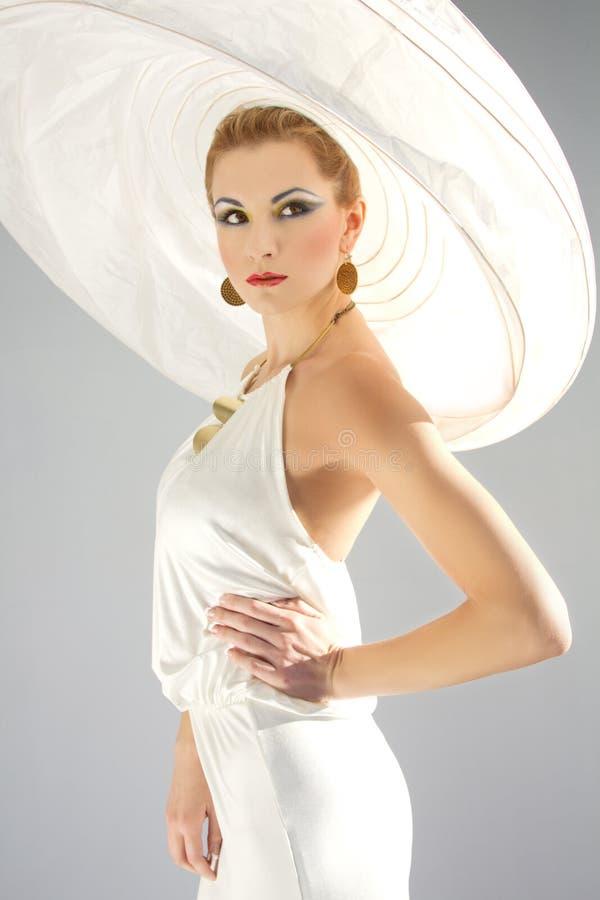 avant mode garde royaltyfria bilder