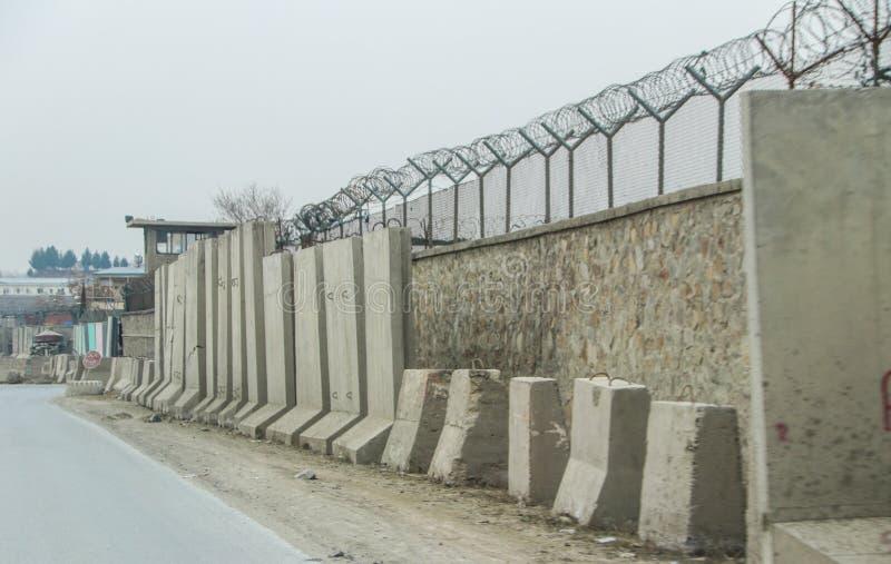 Avant-poste militaire de l'Afghanistan image libre de droits