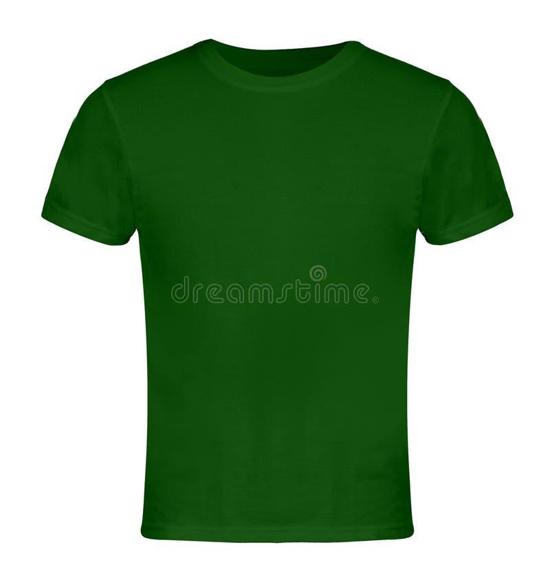 Avant vide vert de T-shirt images stock