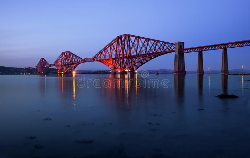 Avanti il ponte, Edimburgo, Scozia immagini stock libere da diritti