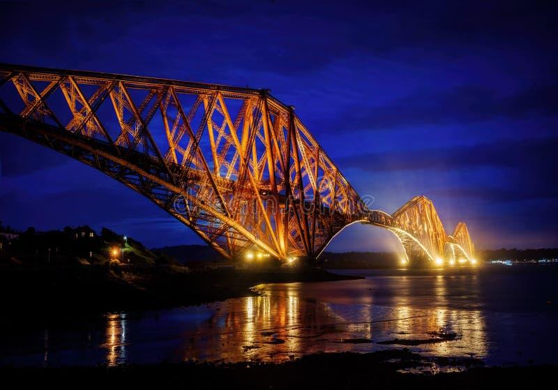 Avanti ponte Edimburgo Regno Unito fotografie stock