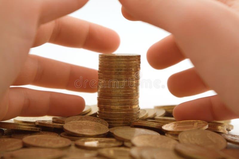 Avaricia al dinero. 2 imagen de archivo libre de regalías