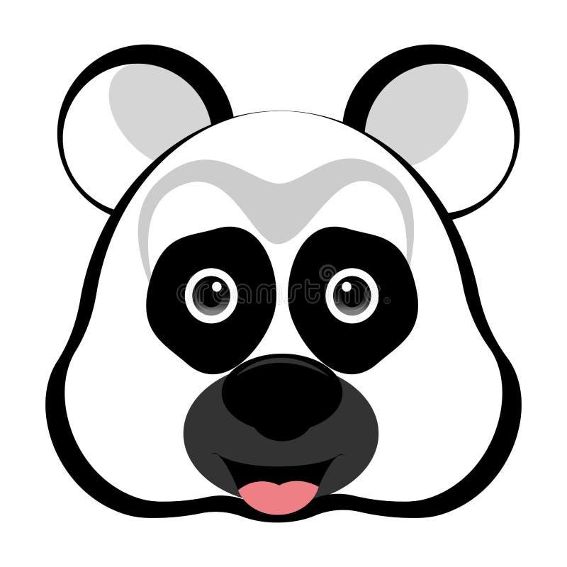 Avatar d'un panda illustration libre de droits
