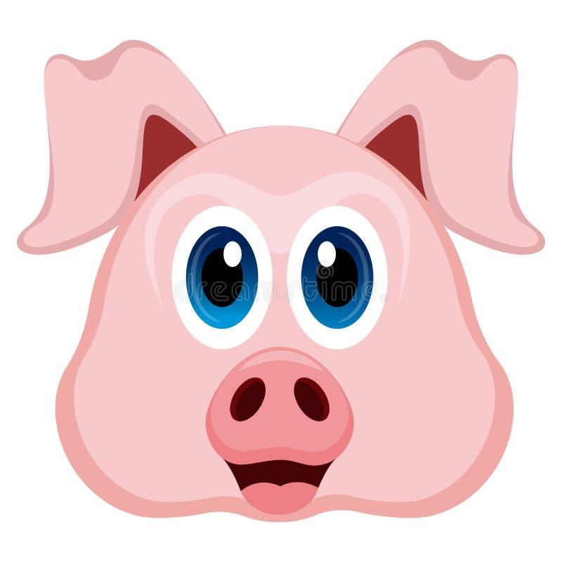 Avatar d'un porc illustration libre de droits