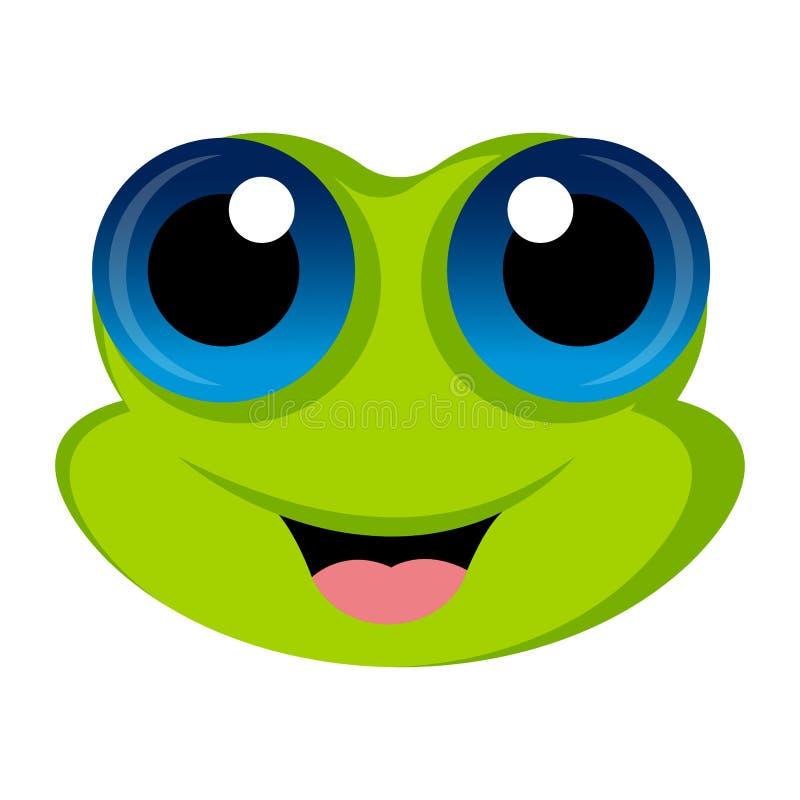 Avatar d'une grenouille illustration libre de droits