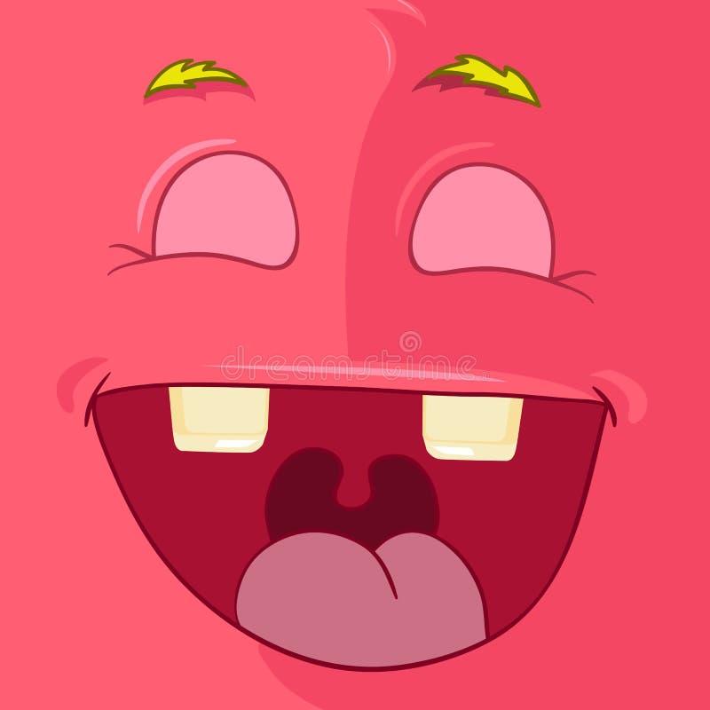 Avatar de monstre illustration libre de droits