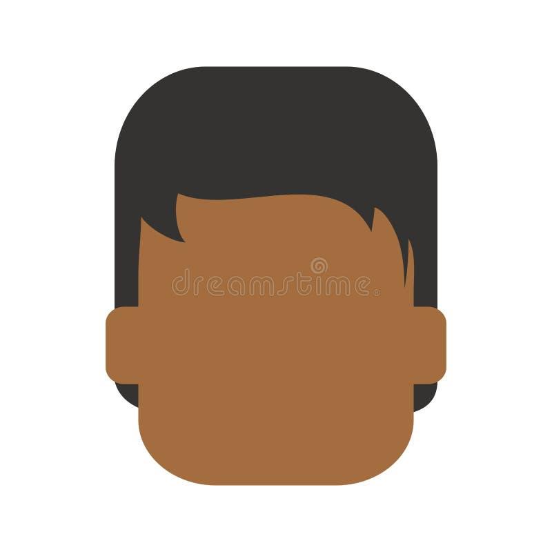 Avatar del hombre anónimo libre illustration