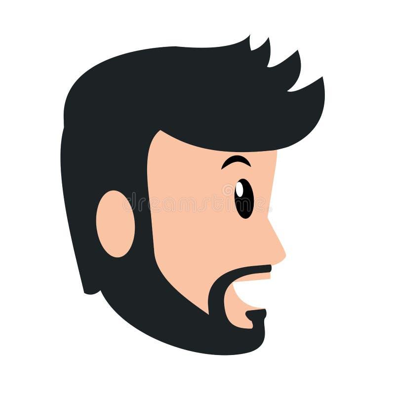 Avatar del hombre joven libre illustration