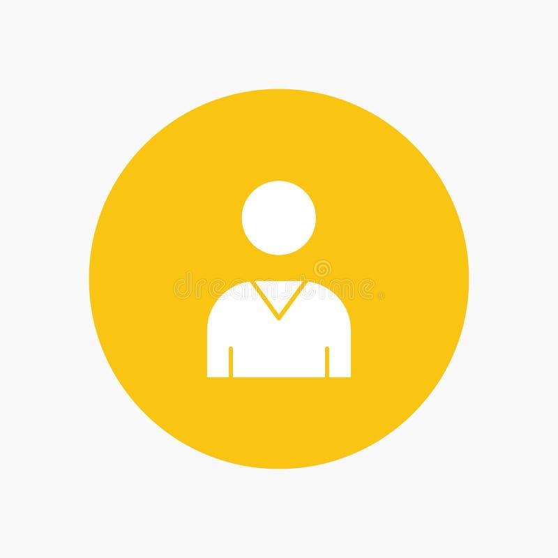 Avatar, Interface, Gebruiker stock illustratie