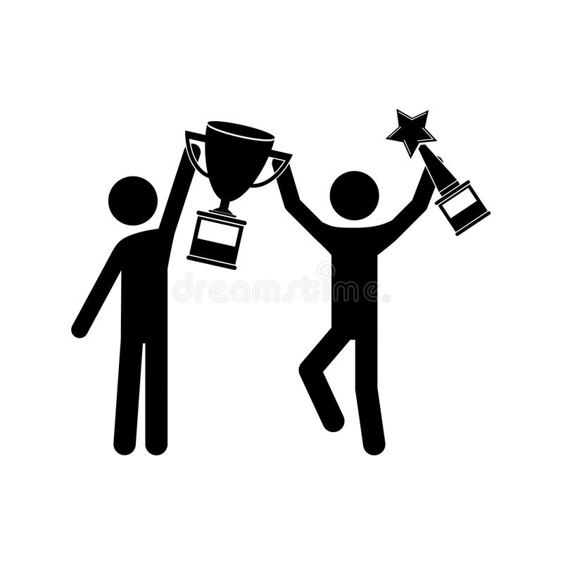 Image result for winner with trophy clip art