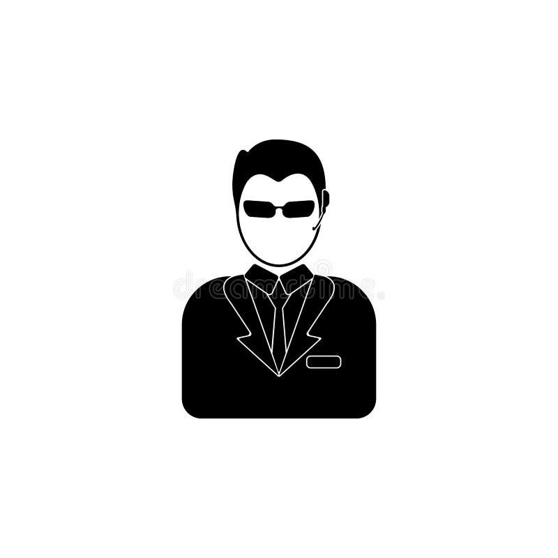 avatar ochroniarz ikona Element popularna avatars ikona Premii ilości graficzny projekt Znaki, symbol inkasowa ikona dla w ilustracji