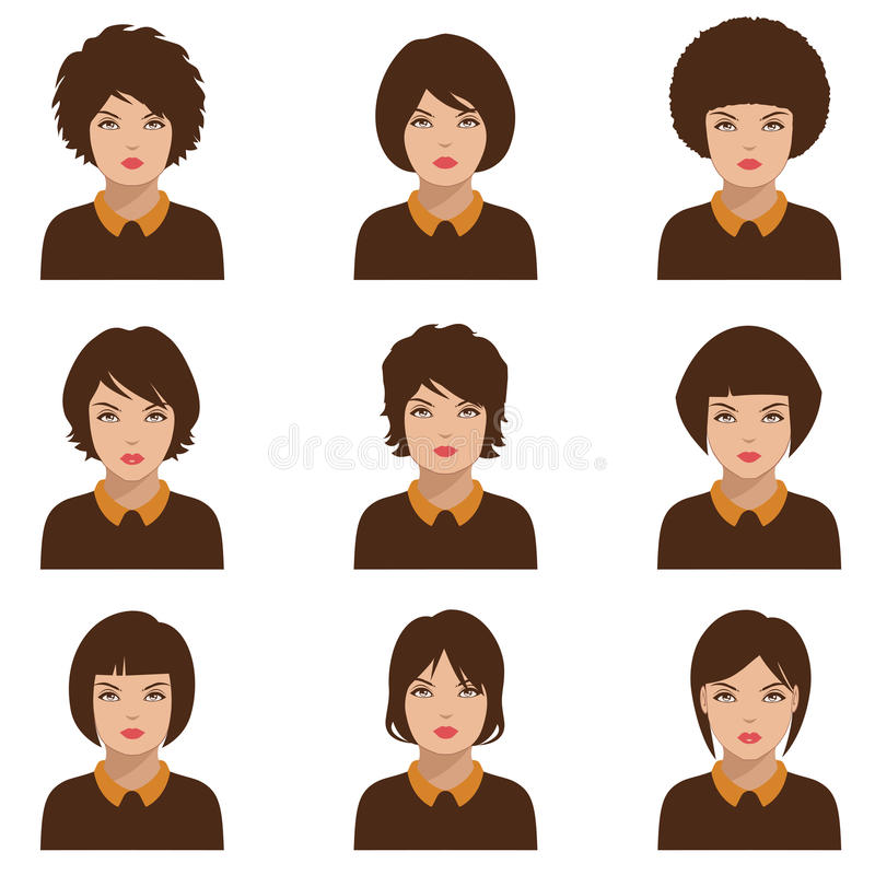 Avatar Woman: Avatar People , Woman Stock Vector. Illustration Of Hair