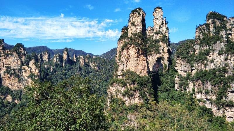 Avatar Zhangjiajie Hunan Cina fotografia stock