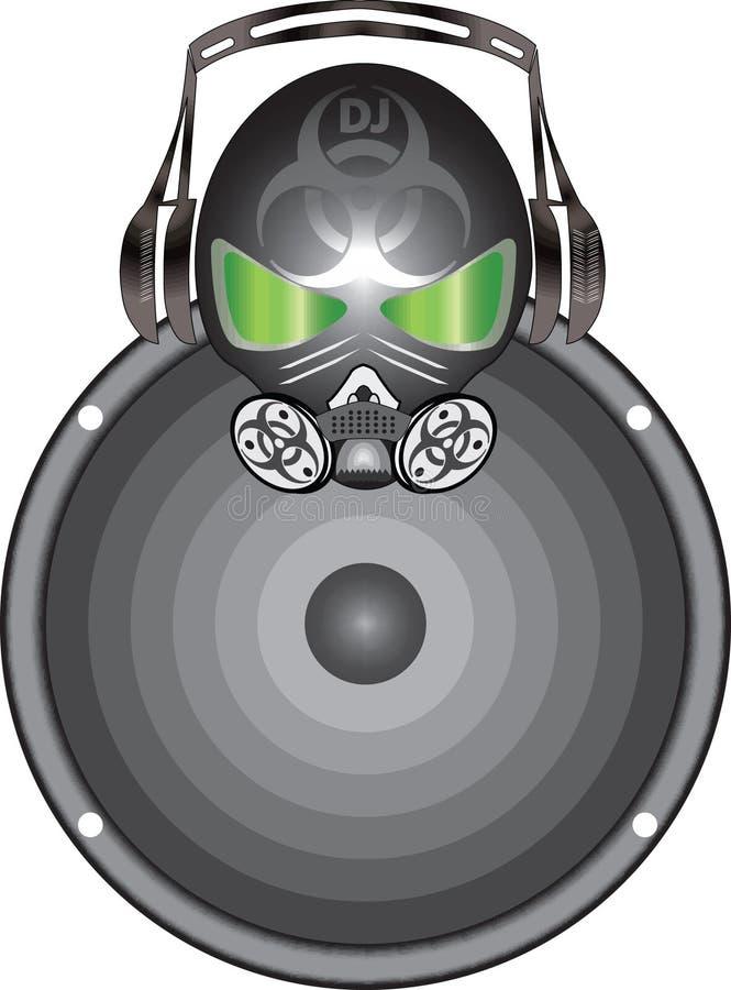 Avatars DJ illustration stock