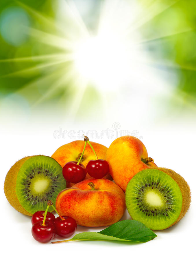 avbilda många fruktcloseupen arkivbilder