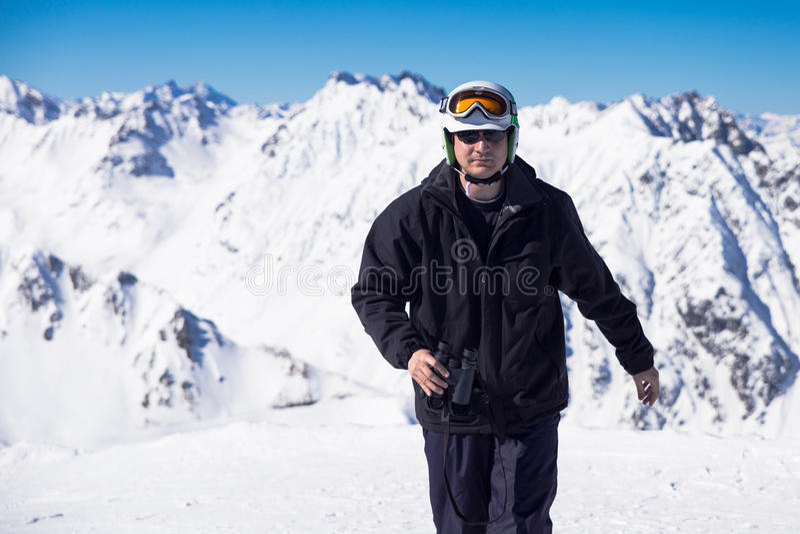 Skier med kikare