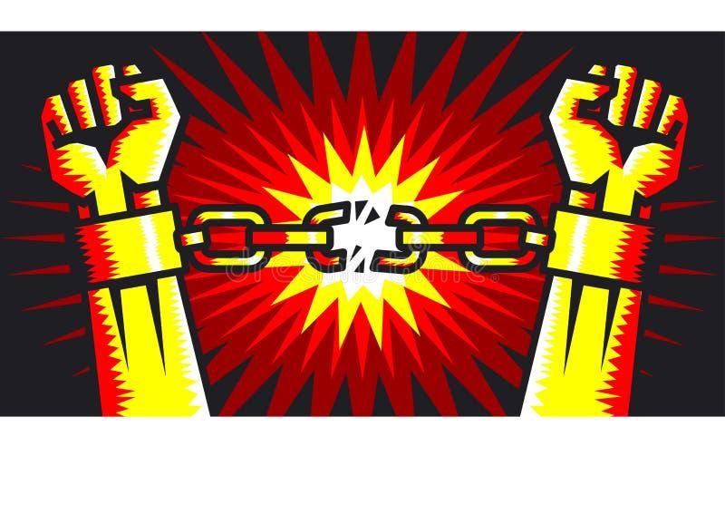 avbrott fritt stock illustrationer