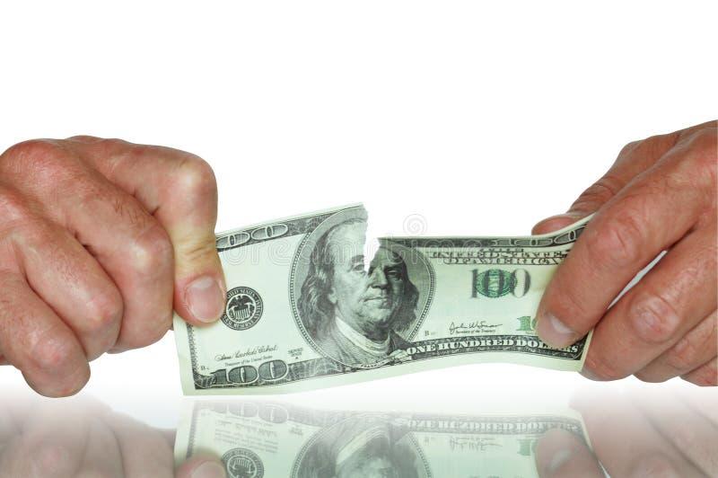 avbryt dollar arkivfoton