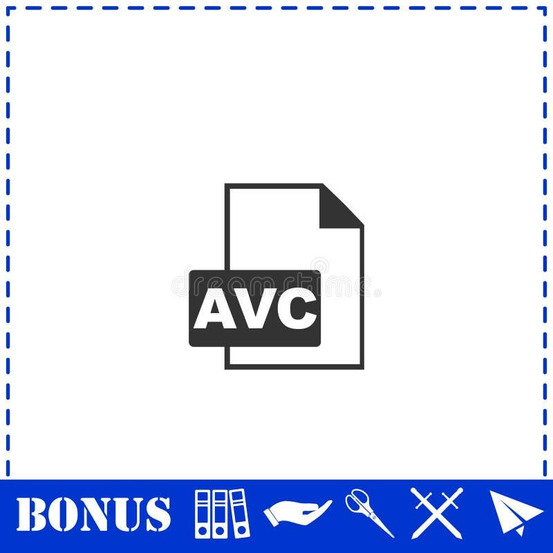 AVC-symbolsl?genhet royaltyfri illustrationer