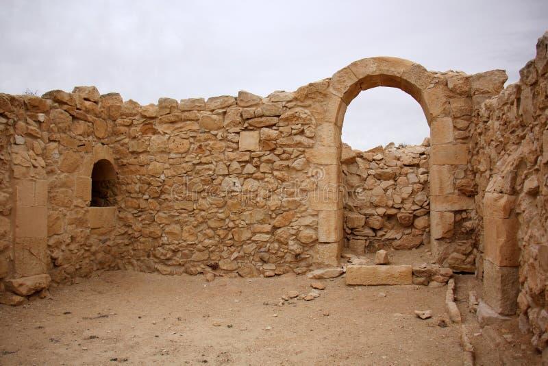 Avdat - la ville antique du Nabataeans image stock