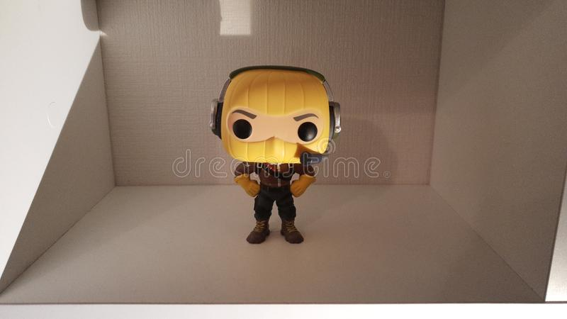 Ave de rapina do PNF de Funko fotografia de stock royalty free