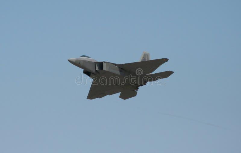 Ave de rapina F-22 imagens de stock royalty free