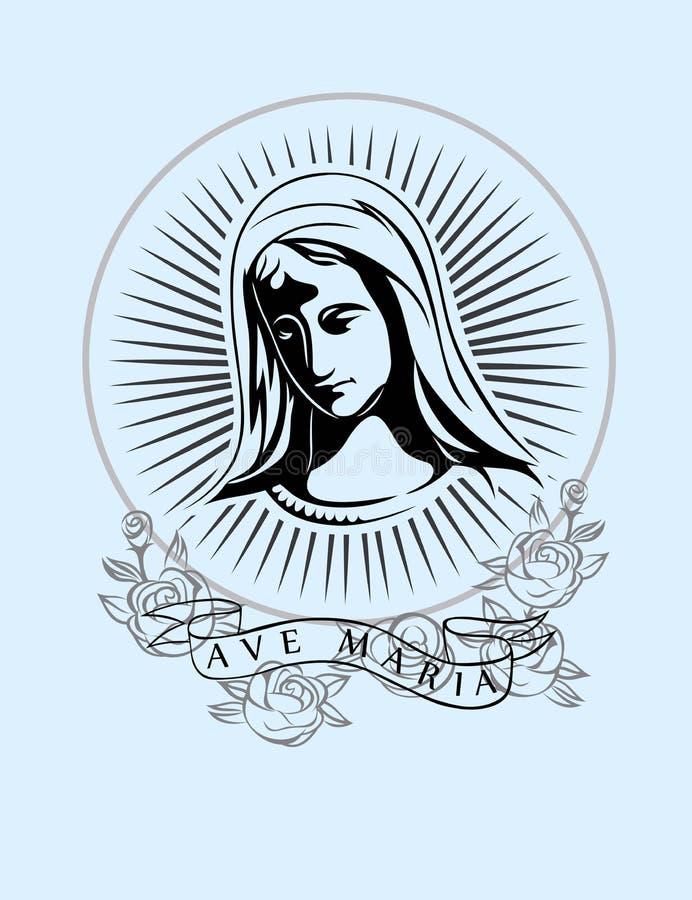 ave Maria royalty ilustracja