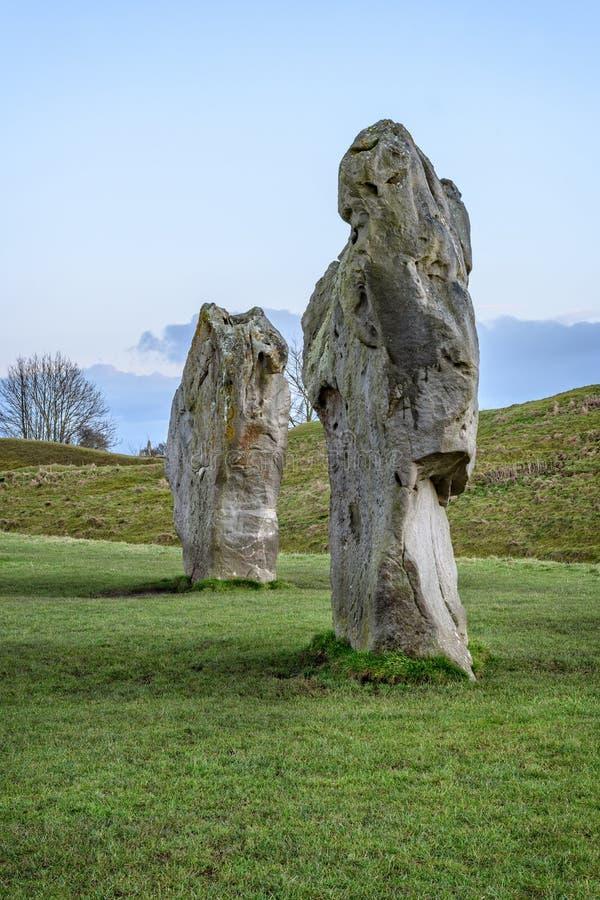 Avebury henge neolityczny zabytek zdjęcie stock