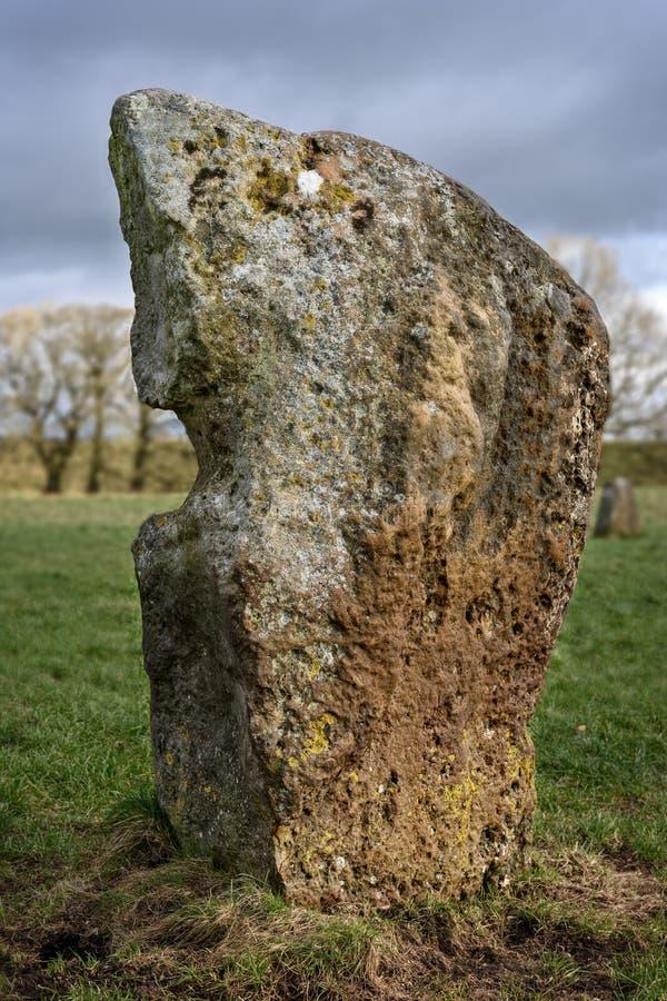 Avebury henge neolityczny zabytek zdjęcia stock