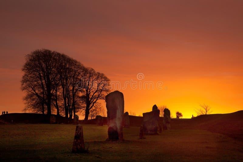 Avebury Stone Circle stock photos
