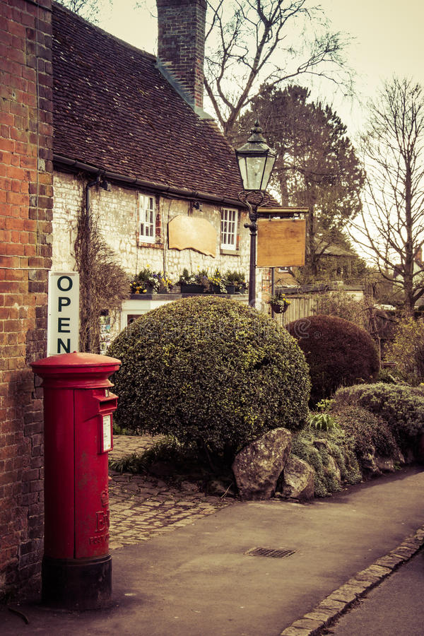 Avebury Village stock photography