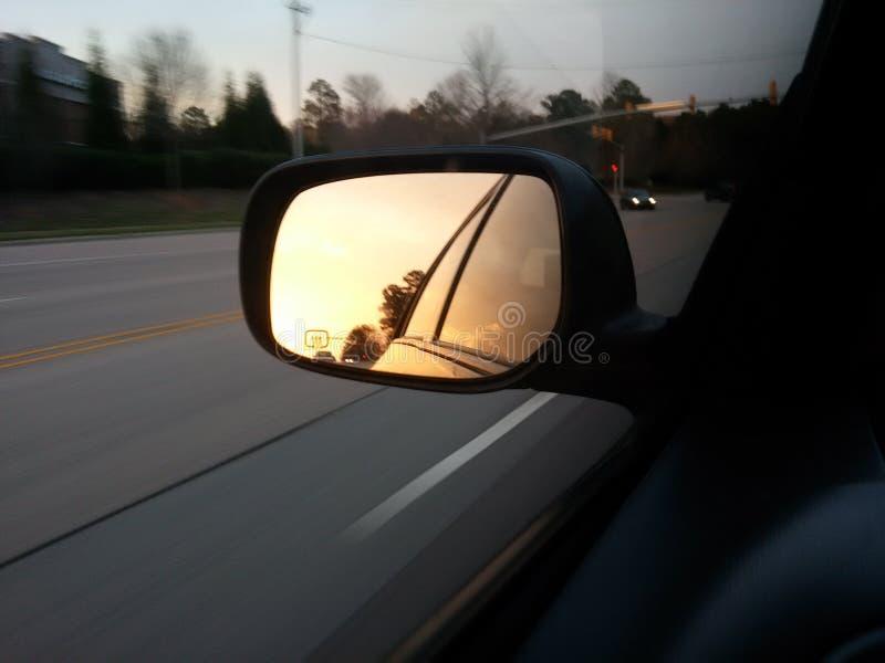 Avec le Sun à votre dos image stock