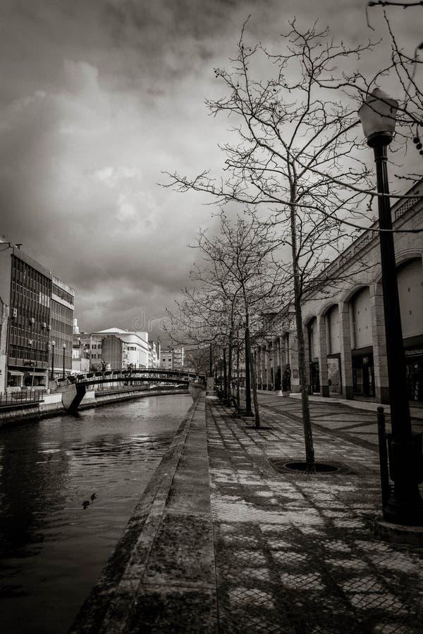 Aveiro-Fluss lizenzfreies stockbild