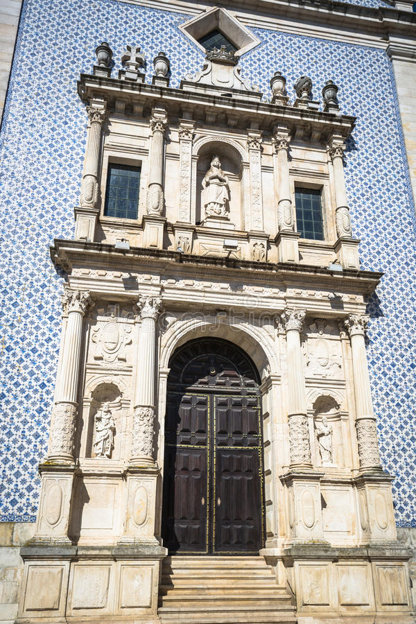 Aveiro, Portogallo Vista tipica della costruzione immagine stock
