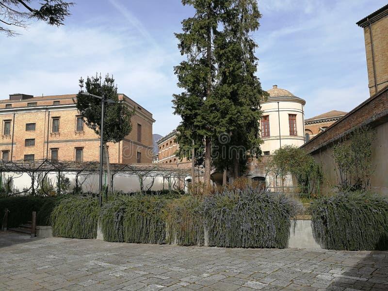 Avellino - przelotne spojrzenie ogród odory fotografia royalty free